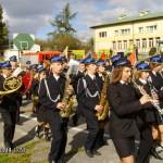 Koszyce Małe - poświęcenie auta strażackiego 14.10.2007