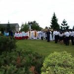 Uroczystość Bożego Ciała w parafi Miłosierdzia Bożego w Woli Rzędzińskiej 23 czerwiec 2011